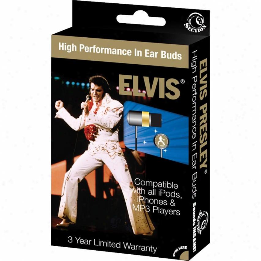 Section 8 Elvis Las Vegas Earphones Rbw5703