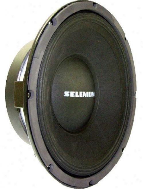 """Selenium 12"""" For Midnass Professioal Sound Reinforcement W/large Central Vent"""