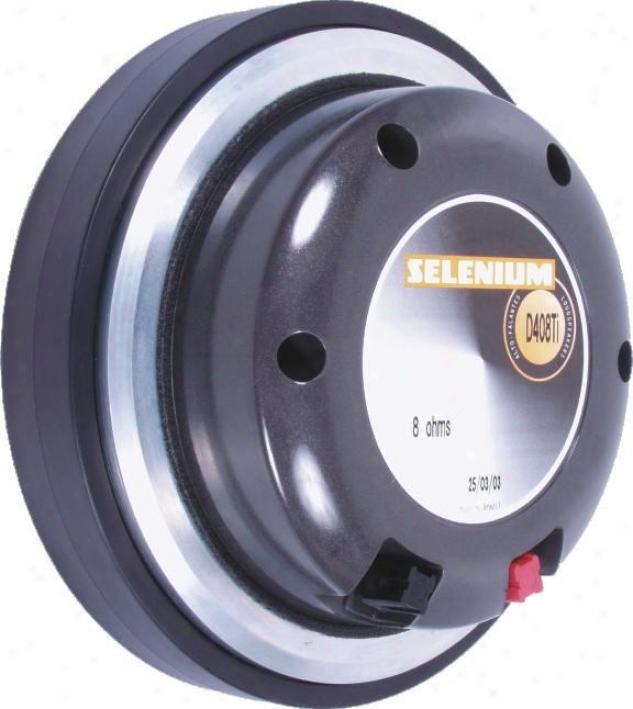 Selenium 4-inch Titanium Driver 125 W Rms