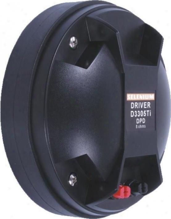 Selenium D3305ti Dpd 3-inch Titanium Driver 75w Rms