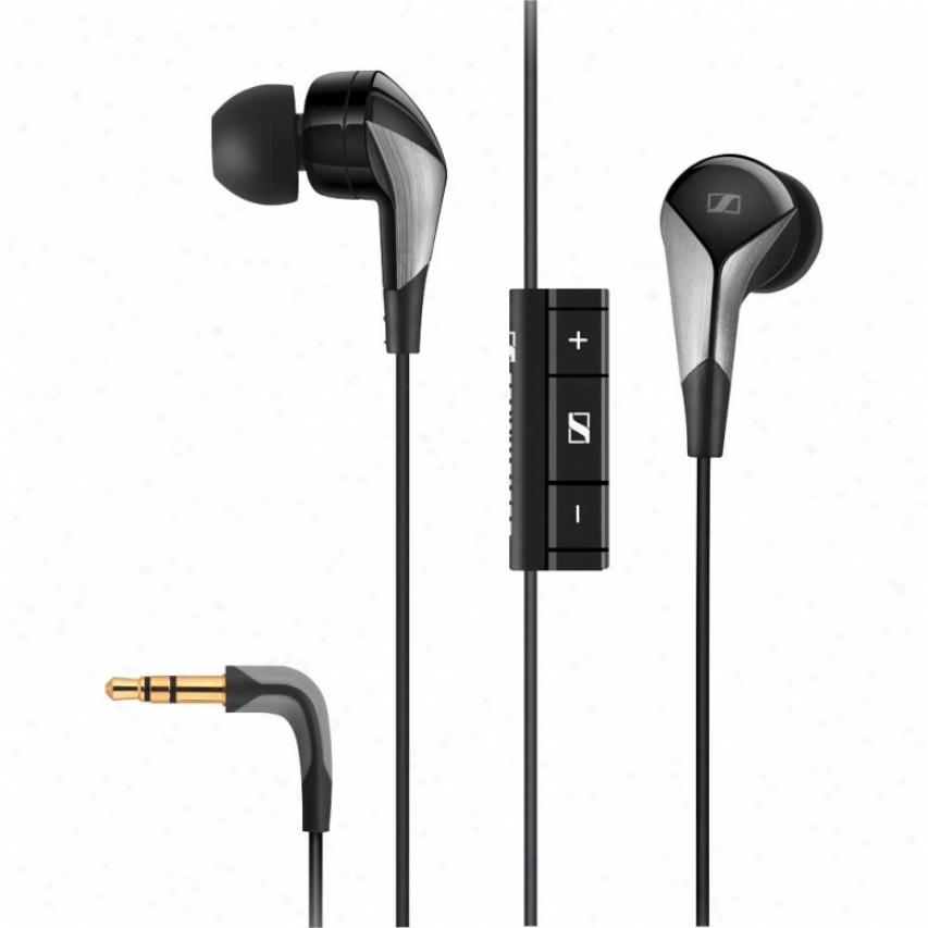 Sennheiser Cx 880i Premium Ear-canal Headphones Through  Microphone & Smart Remote