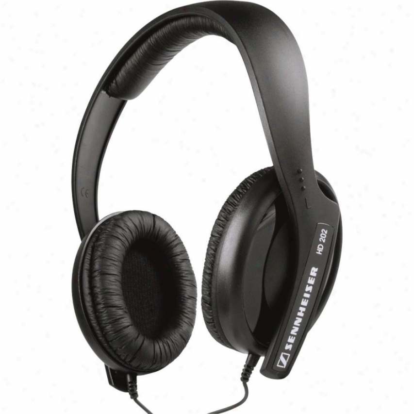 Sennheiser Hd-202-ii Closed-back Around-the-ear Stereo Headphone