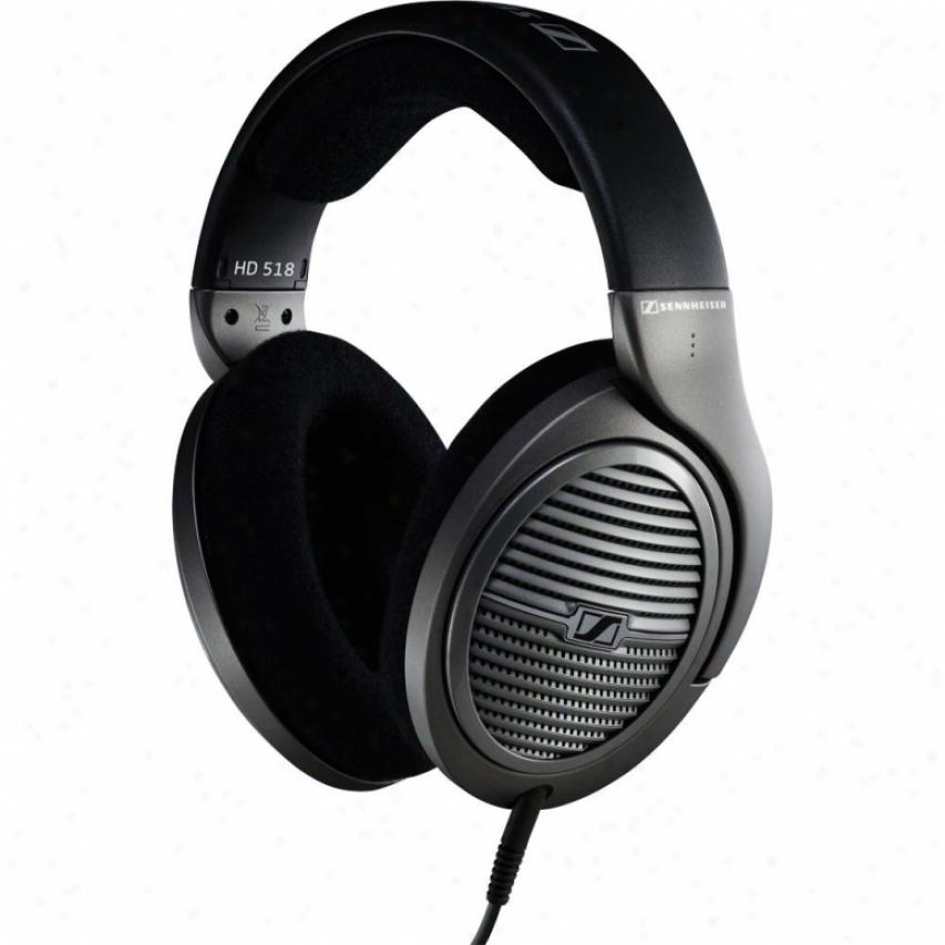 Sennheiser Hd 518 Opsn Circumaural Headphones