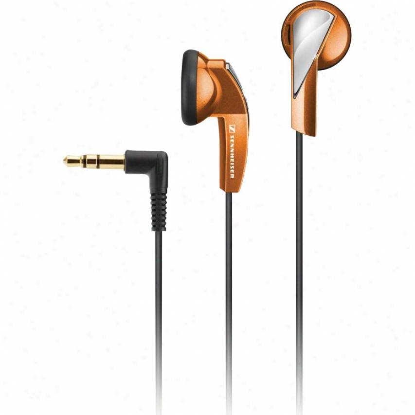 Sennheiser Mainstream Orange Earphones