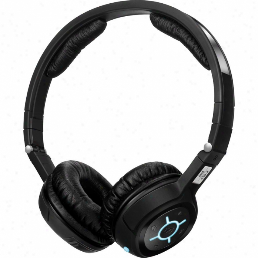 Sennheiseer Mm 450-x On-ear Noise-canceling Stereo Bluetooth Headset