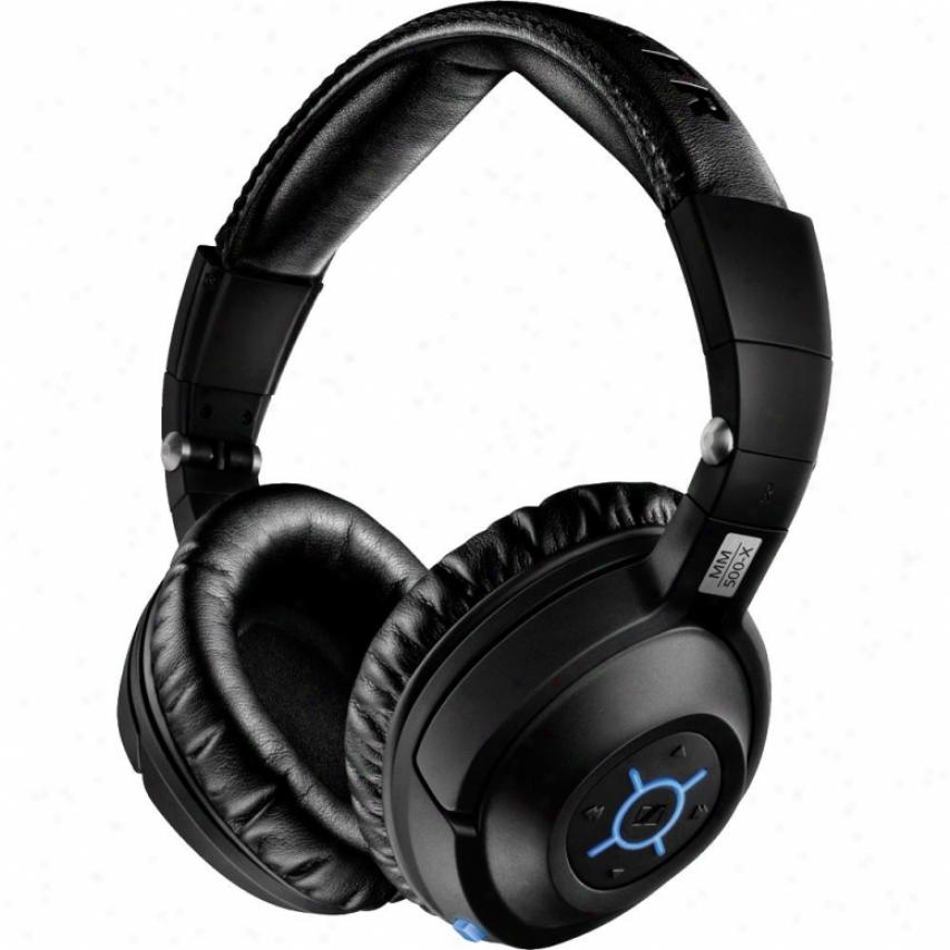 Sennheiser Mm 500-x Over-ear Bluetooth Wireless Stereo Headser
