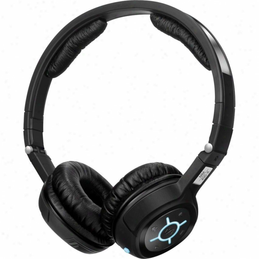 Sennheiser Mm450 Active Noise-cancelling Bluetooth Stereo Headset