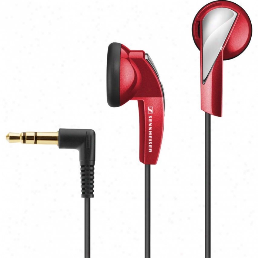 Sennheiser Mx 365 Ear Bud Headphones - Red