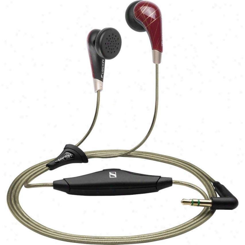 Sennheiser Mx 581 Portable Earbud Headphones
