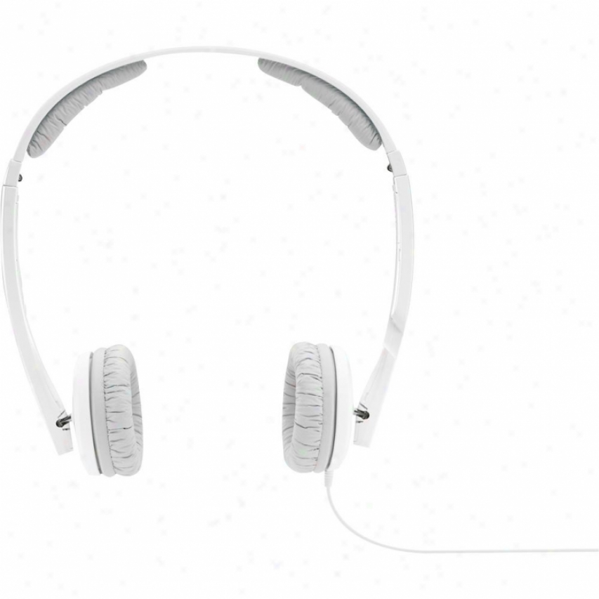 Sennheiser Px 200-ii Collapsible High Performance Closed Headphones - White