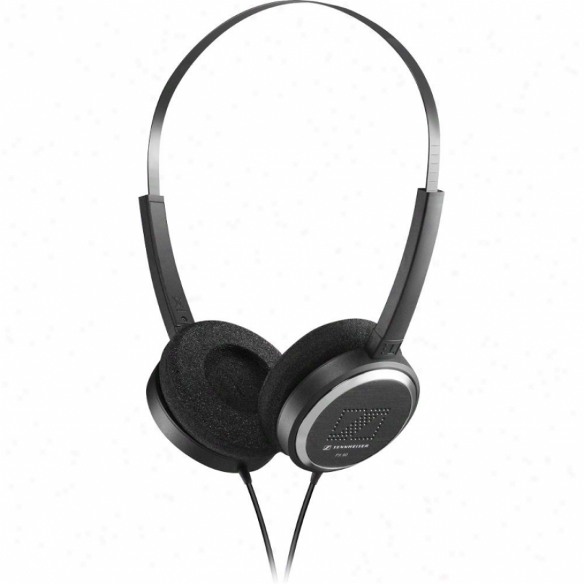 Sennheiser Px 90 Portable Open-aire On-ear Headphones With Dynamic Basa