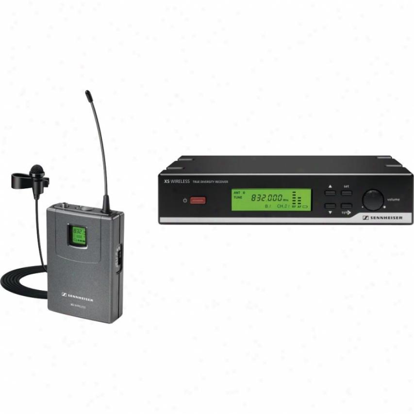 Sennheiser Xsw 12 A Frequebcy Presentation Set Wireless Microphone Order