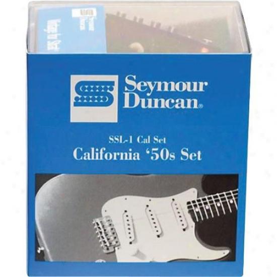 Seymour Duncan California '50s Single Coil Group Ssl-1 - Black - 11208-01