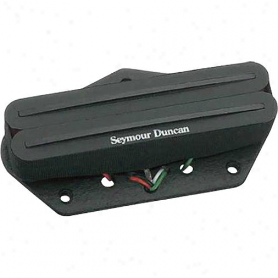 Seymour Duncan Hot Rails For Tele Sthr-1b Bridge Pickup - Black - 11205-03