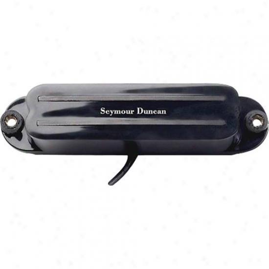 Seymour Duncan Shr-1b Hot Rails Humbucke rPickup - Bridge - Black