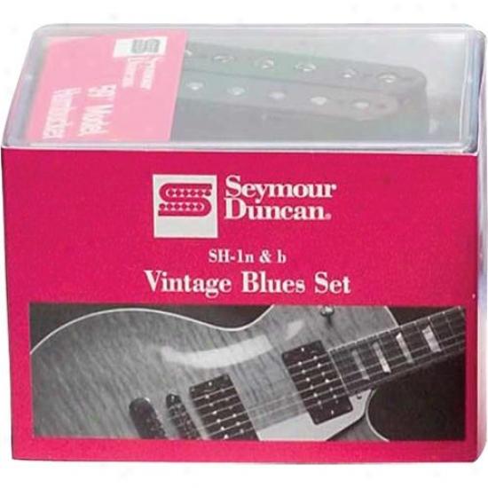 Seymour Duncan Vintage Blues Humbucker Pickup Set (sh1n & Sh1b) - 11108-05-b