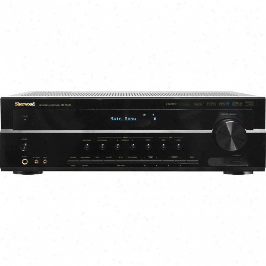 Sherwood 7.1 Internet A/v Streaming Receiver Rd-7505
