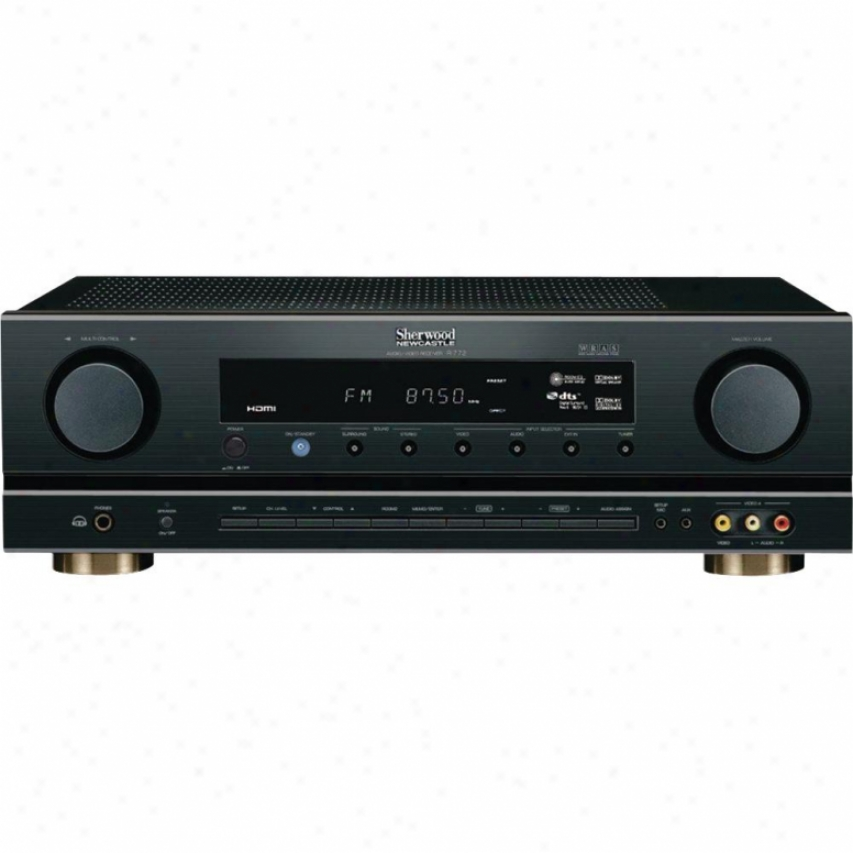 Sherwood R-772 Newcastle 7.1 Home Theater Receiver - Black