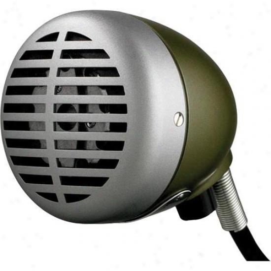 """Shure 520dx """"grden Bullet"""" Harmonica Microphone"""