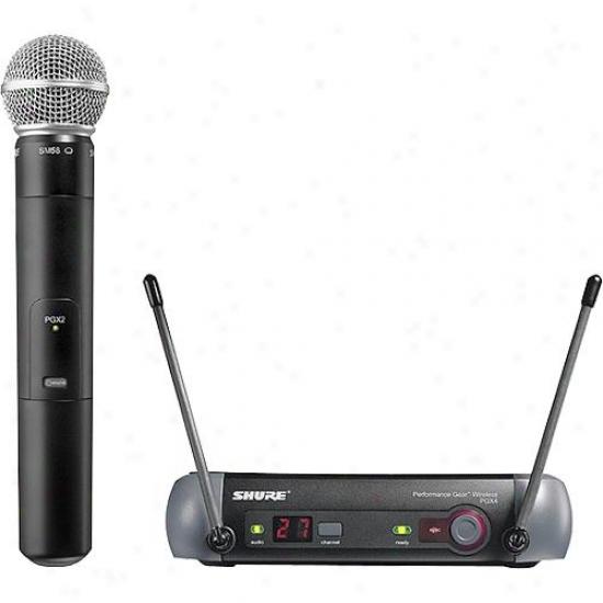 Shure Handheld Wireless Microphone Kit Pgx24/58-j6