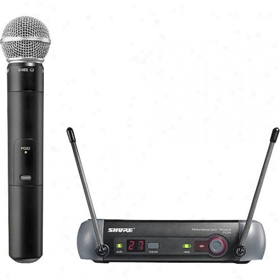 Shure Handheld Wireless Microphone Kit Pgc24/58-l5