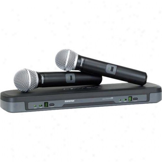 Shure Performance Gear Pg288/pg58 Dual Vocal Wireiess System