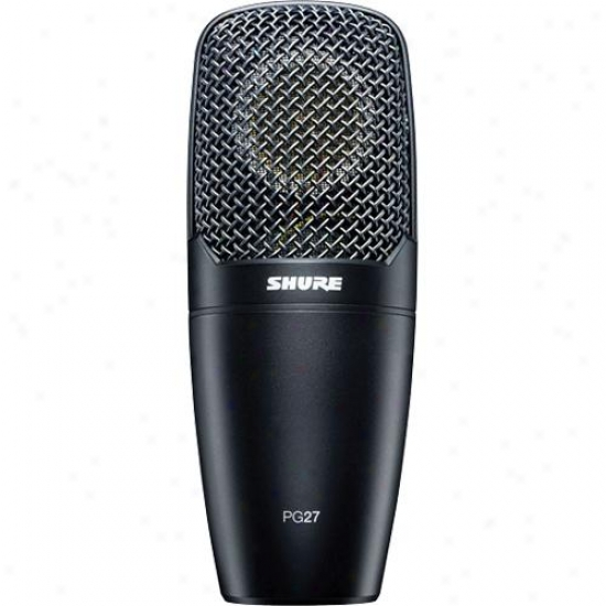 Shure Pg27lc Side-addres sardioid Condenser Microphone