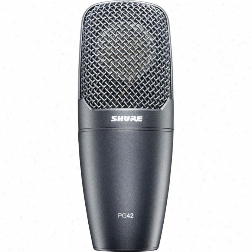 Shure Pg42-lc Vocal Side Addrdss Condenser Microphone