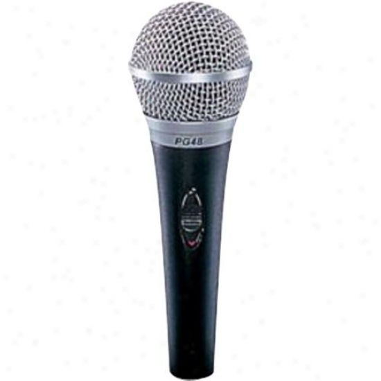 Shure Pg48 Vocal Microphone With Xlr Connector