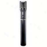 Shure Pg81 Instrument Microphone W/ Xlr To Xlr Cable