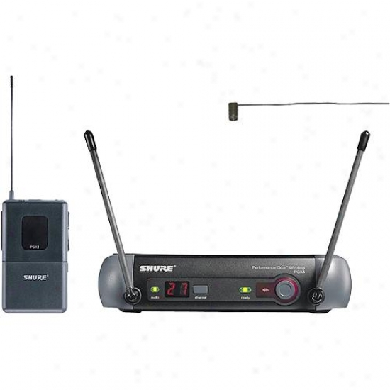 Shure Pgx14-85-l5 Lavalier Order Wireless Microphone Kit
