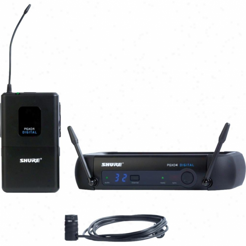 Shure Pgxd14/85 Pgx Series Lavalier Digital Wireless System