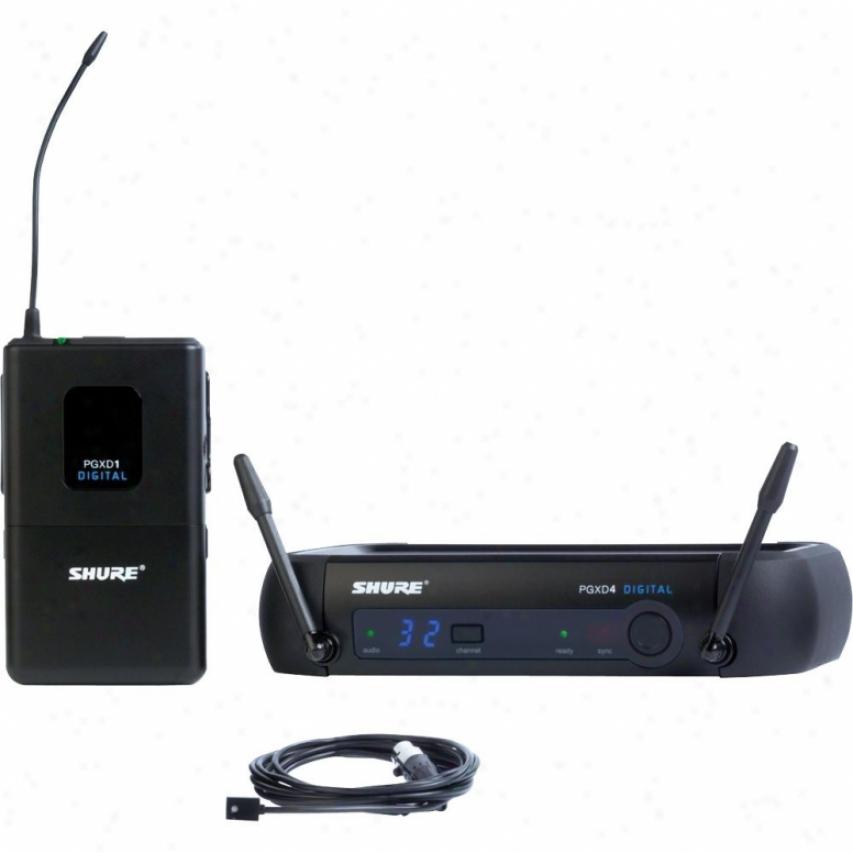Shure Pgxd14/93 Pgx Series Lavalier Digital Wireless System