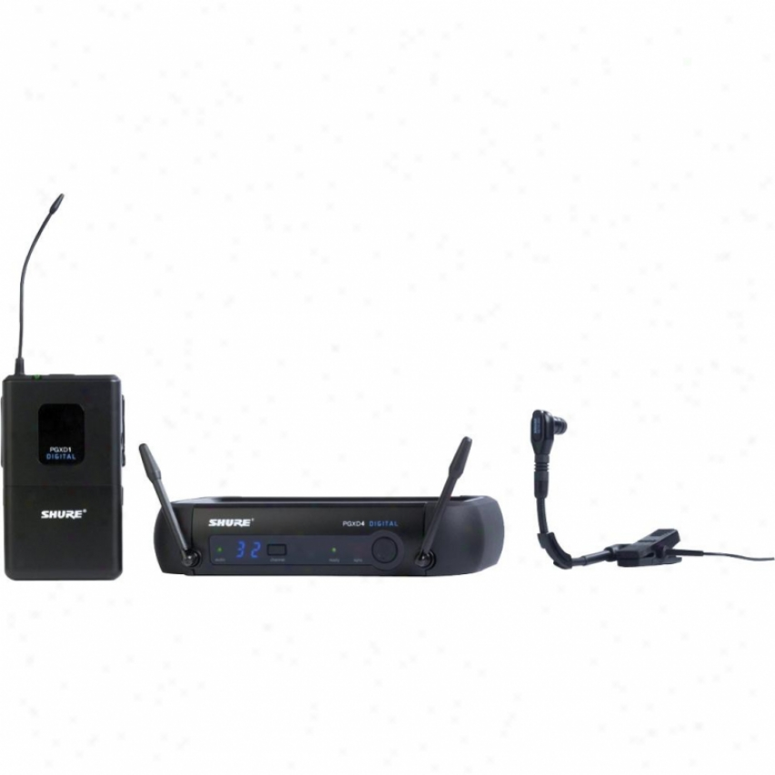 Shure Pgxd14/beta98h Pgx Series Instrument Digital Wireless System