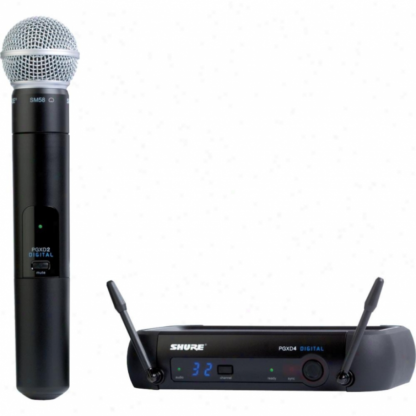 Shure Pgxd24/sm58 Pgx Succession Handheld Digital Wireless System