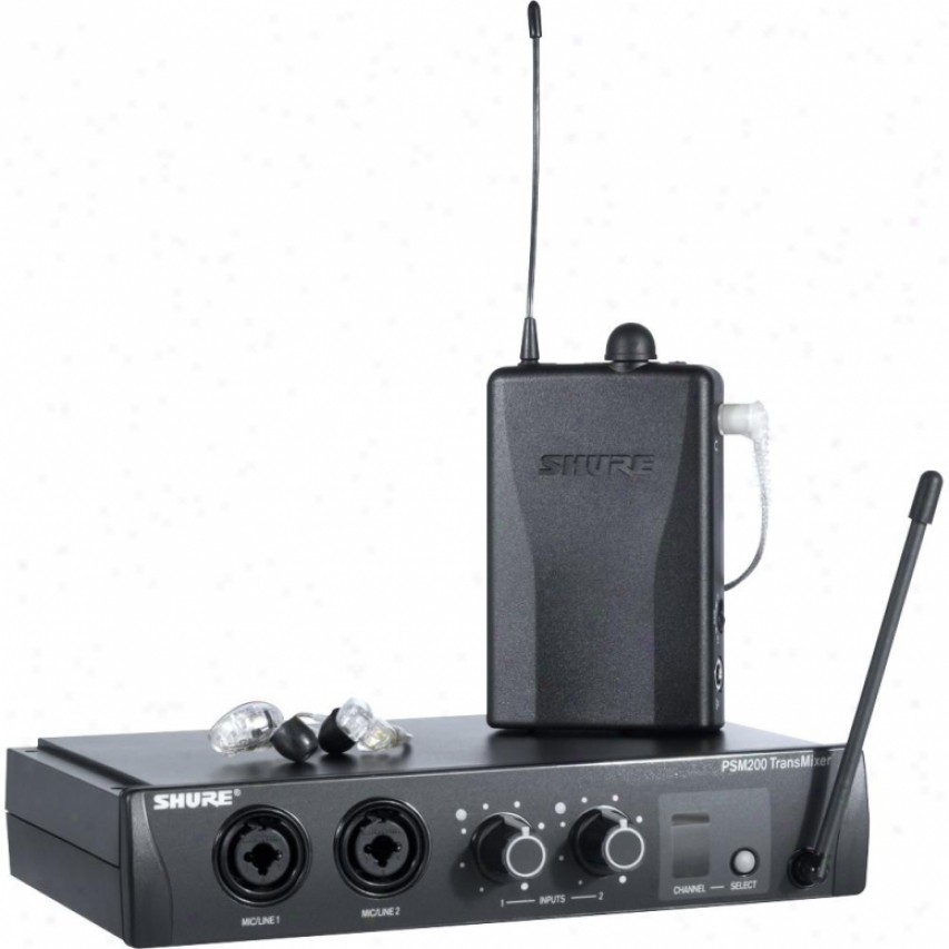 Shure Psm 200 Wireless Live Monitoring System - P2tr215cl-h2
