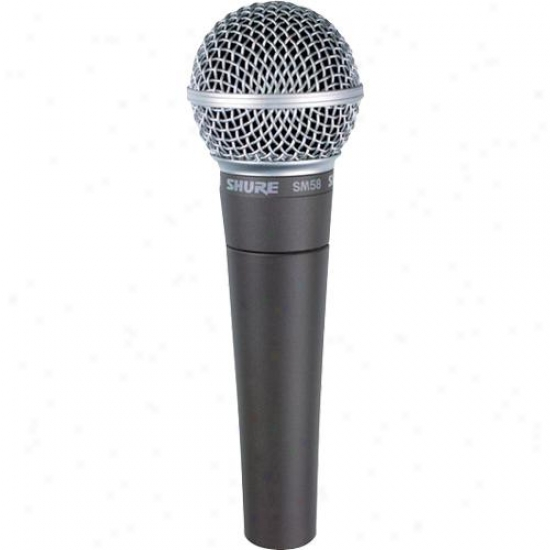 Shure Sm58 Professional Vocal Mic With Xlr Cable