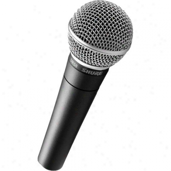 Shure Sm58lc Cardioid Dynamic Microphone - Cable Not Included