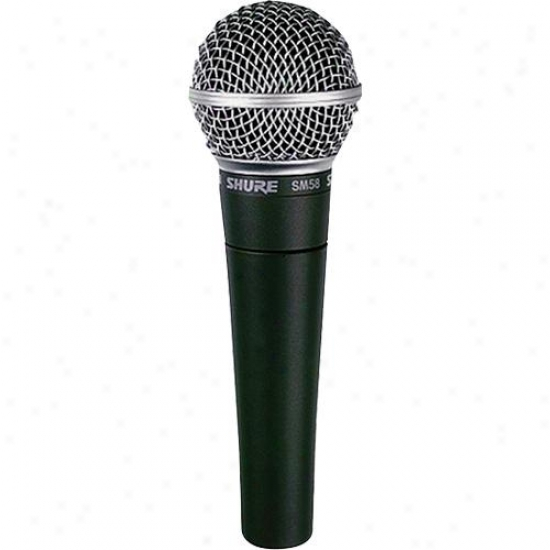 Shure Sm58s Profesisonal Vocal Mic With On / Off Switch