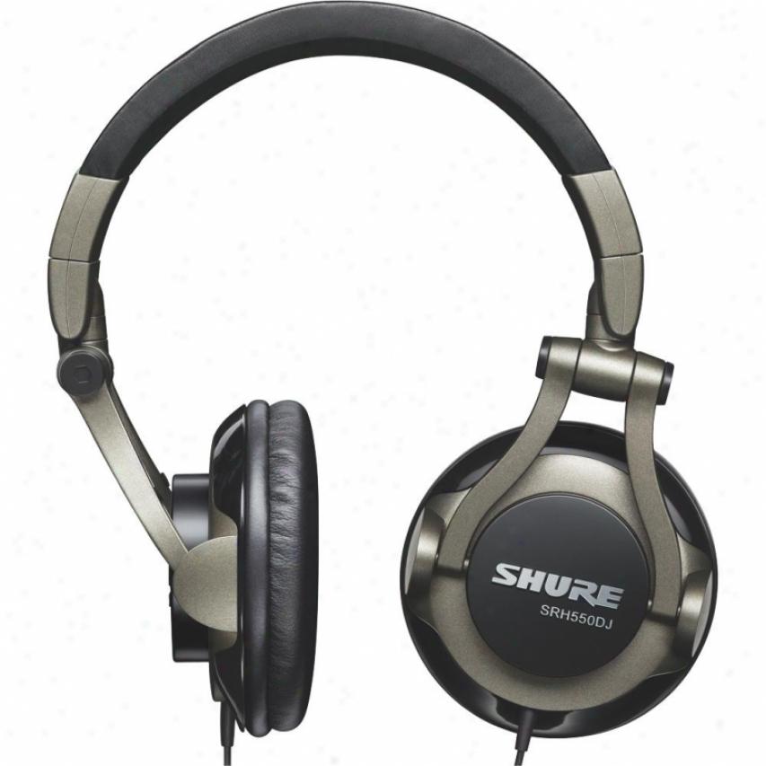 Shure Srh550dj Profezsional Quapity Dj Headphones