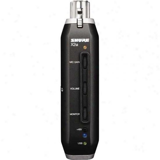 Shure X2u Xr To Usb Signal Adapter