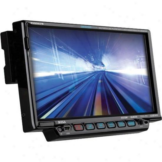 "Single-din 7"" Car Touchscreen Tft Monitlr Am/fm Receiver"