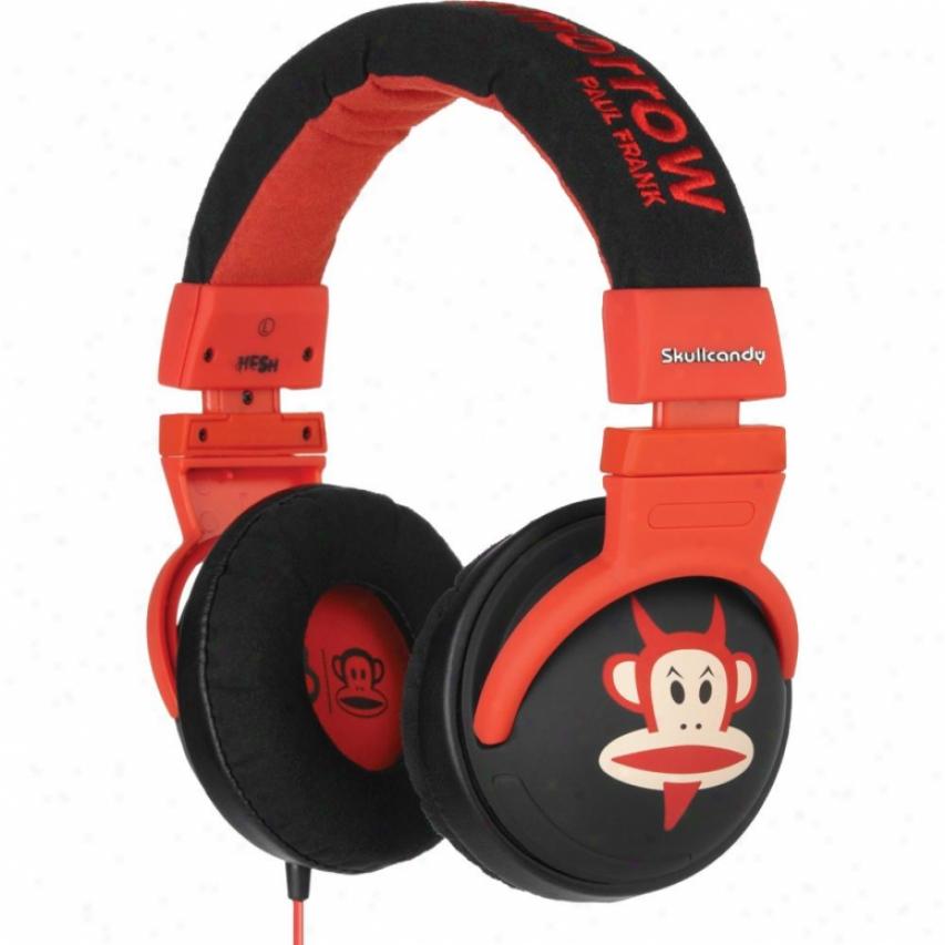 Skullcandy Hesh 2011 Paul Frank Devil Julius Headphones - S6hedz133
