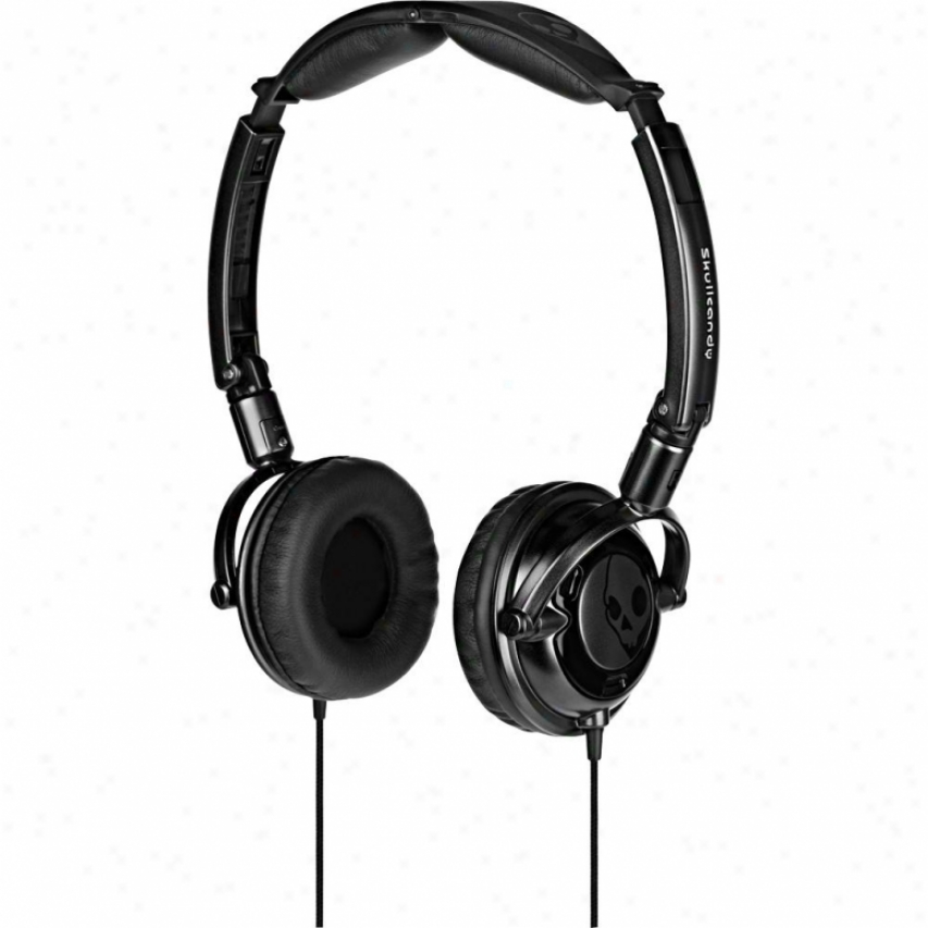 Skullcandy Lowrider 2011 Stereo Headphones - Black