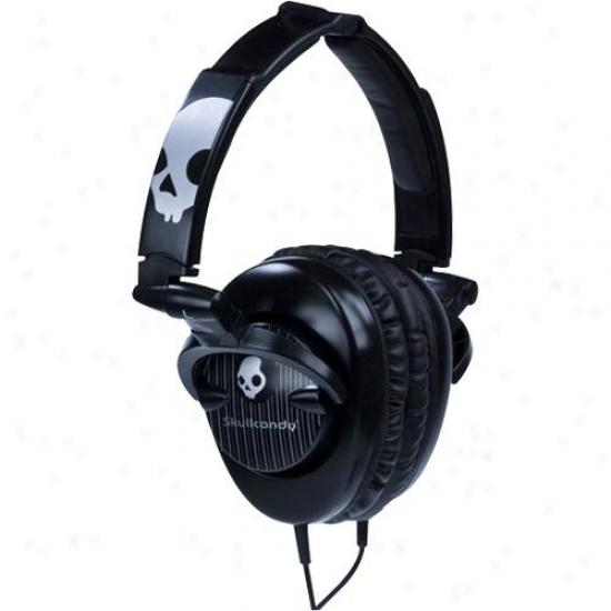 Skullcandy Scs-scbp3.5 Skullcrushers 2011 SubwooferS tereo Headphones - Black