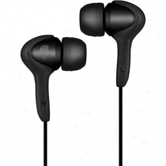 Skullcandy Smokin 2011 Buds (mic'd) In-ear Earbuds - Black - S2sbbi-bz