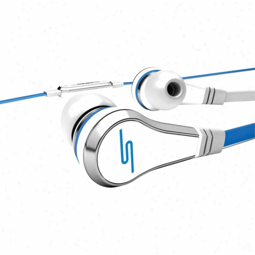 Sms Audio Road By 50 In-ear Wired Headphones - White