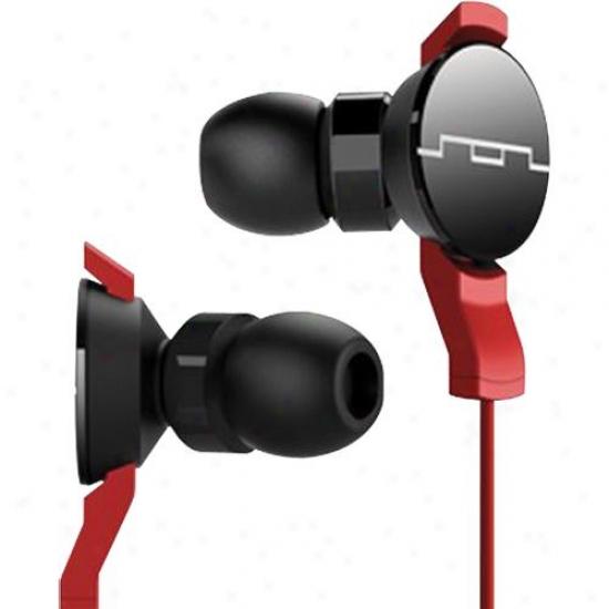 Sol Commonwealth Amps In Ear Headphoones - Red