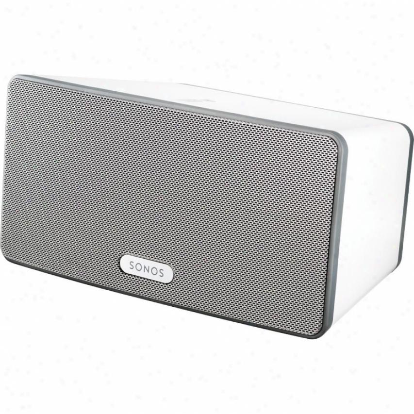 Sonos Play 3 Wireless Streaming Music & Internet Radio Speaker System - Happy
