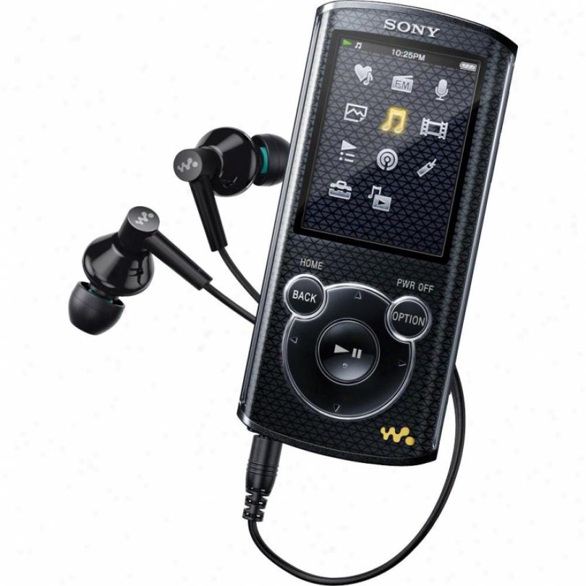 Sony 4gb E-series Walkman® Video Mp3 Nwze463 Black